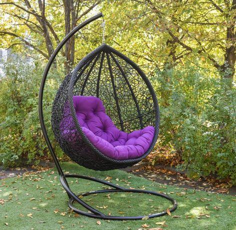 Подвесное кресло кокон Веста. Скидка. Качеля садовая. Гамак из ротанга