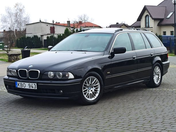 BMW e39 530iA 231km exclusive,xenon,navi