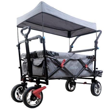 Wózek uniwersalny składany plażowy turystyczny CT800 Fuxtec