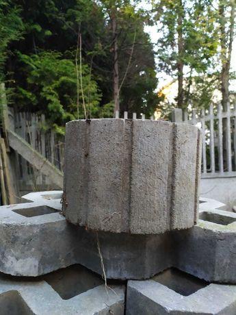 Gazony gazon betonowy półksiężyc