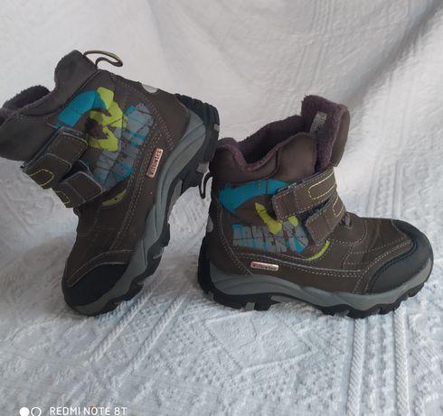 Wodoodporne buciki zimowe trekingowe Woodstone Willowtex roz 25