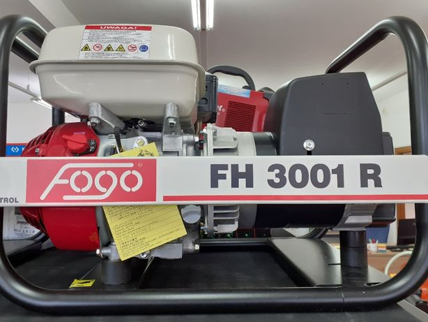 Agregat prądotwórczy Fogo FH 3001 R 2,5-2,7 kW