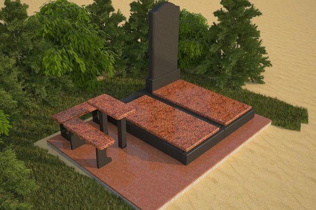 Памятник из лезников. Лезники любой размер.