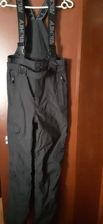 Spodnie narciarskie XS czarne
