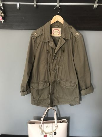 Militarna kurtka new look 42 oliwkowa