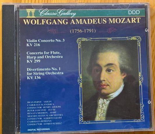 Mozart - Concertos violino/flauta CD