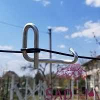 Тенвіт (скоба) для натягу металевогонизьковуглецевого дроту