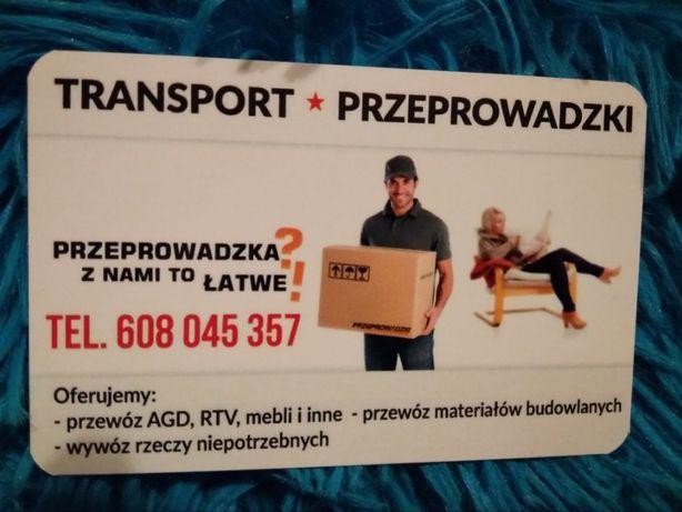 Transport 24/7 Odbiór mebli Czekam na zlecenia