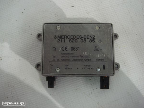 Modulo Antena Do Bluetooth Mercedes-Benz E-Class (W211)