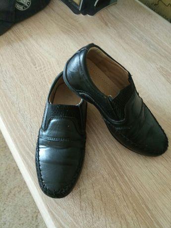 Кожаные туфли 27 размер