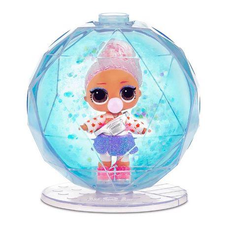 Кукла Лол LOL серии Winter Disco Блестящий шар сюрприз. ЛОЛ Оригинал!