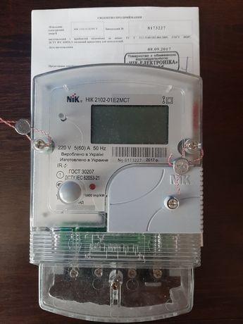 Продам многотарифный счетчик электрической энергии.