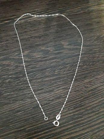 Łańcuszek srebrny 925 42 cm długość