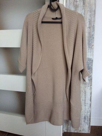 Sweter kardigan beż