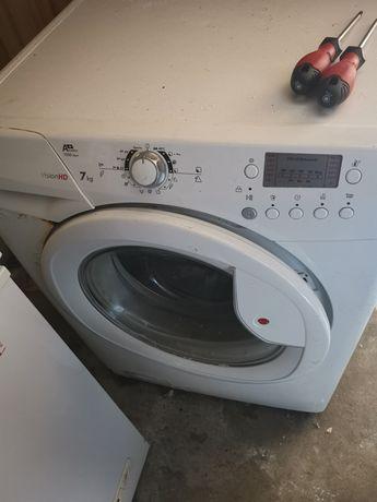 Reparação de máquina de lavar roupa no local