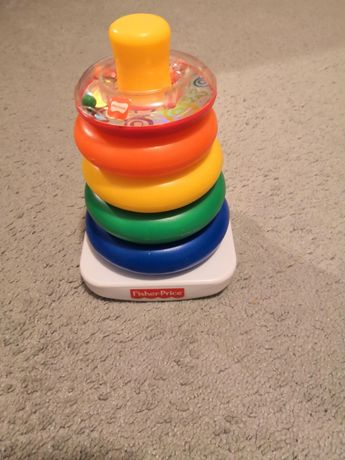 Fisher price piramidka z kółek
