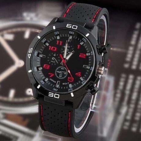Мужские часы, наручные, кварцевые, каучук, Очень стильные. На подарок