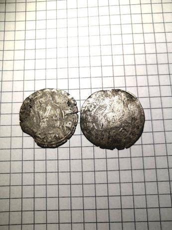 Monety zestaw stare srebro średniowiecze Reorganizacja zbioru