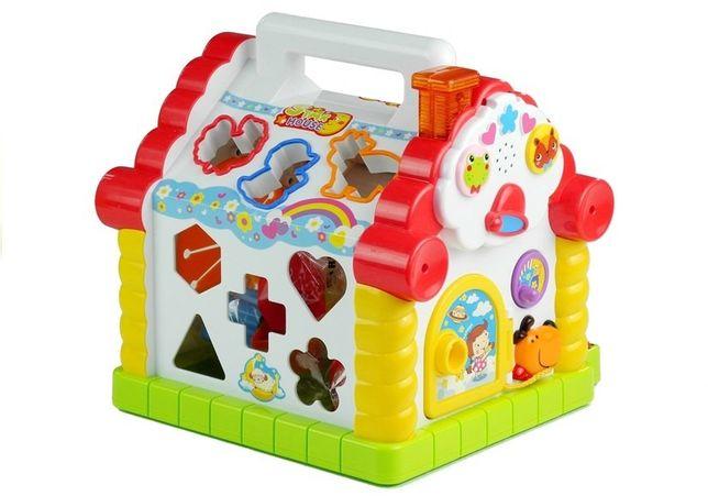 Sorter domek ekukacyjny zabawka wielofunkcyjna Odbiór Wysyłka