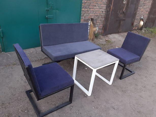 Комплект мягкой мебели в стиле лофт. Loft