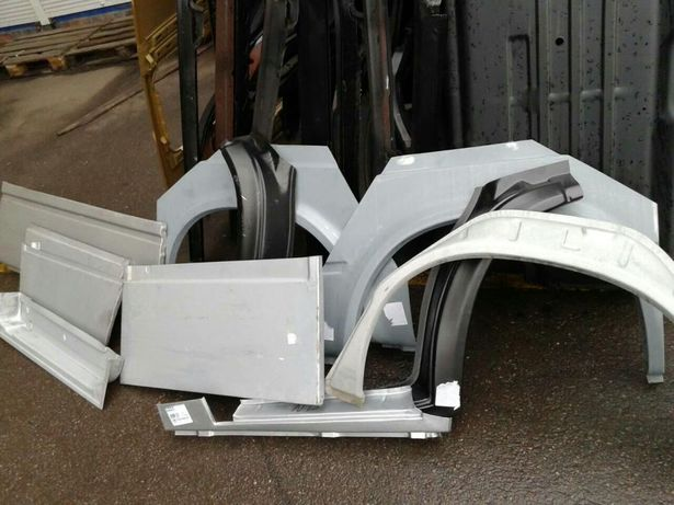 На VW LT 35 Mercedes Sprinter Пороги арки низ двери панели на спринтер