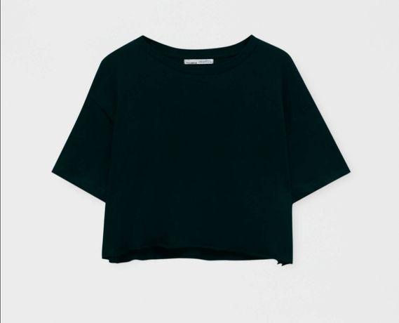T-shirt Cropped Pull&Bear