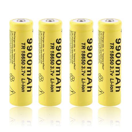 bateria pilha 9900 mAh Recarregavel Li-ion Battery 18650 lanterna