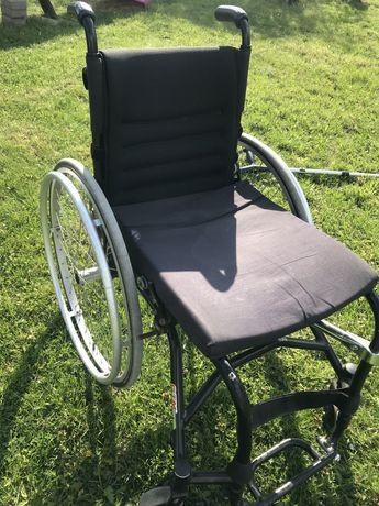 Wózek inwalidzki połaktywny GTM
