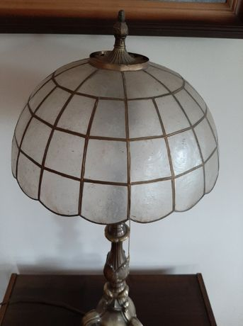 Piękna lampa mosiądz !