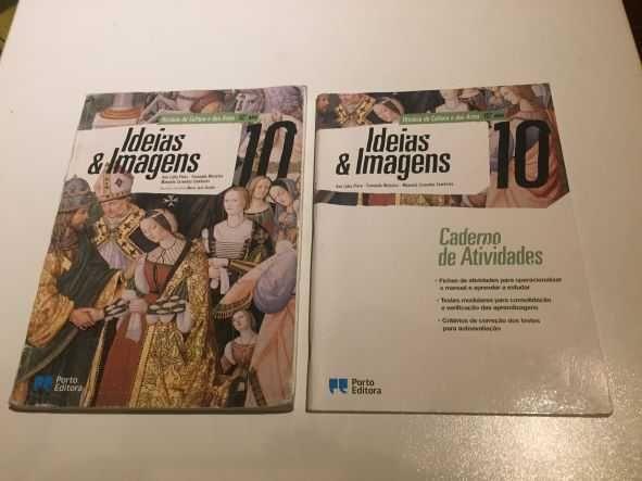 Livro História Ideias e Imagens 10 ano