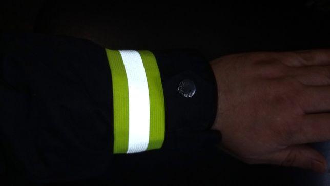 Светоотражающие повязки-нарукавники на липучке