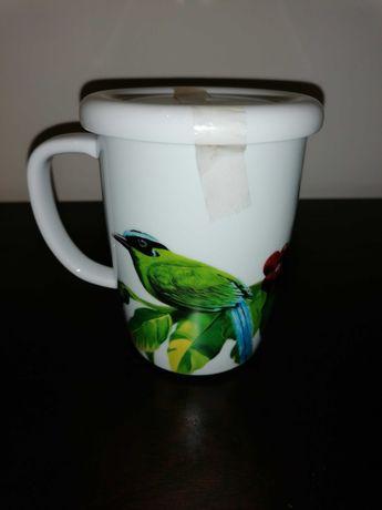 Chávena de chá Spal com coador e tampa