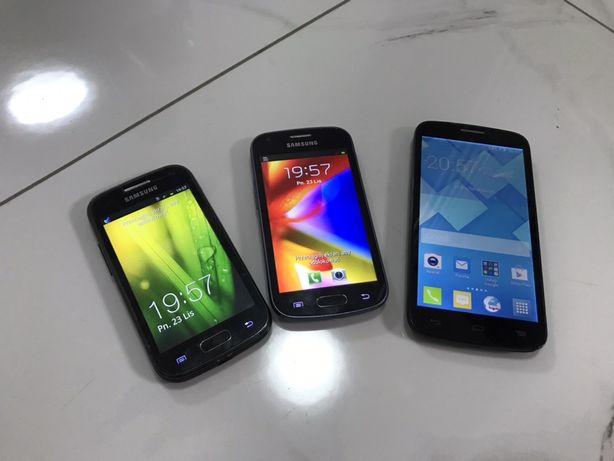 Zestaw telefonow Ace 2, Galaxy Trend , Alcatel Pop C7