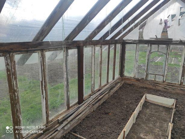 Вікна дерев'яні б/у на теплицю
