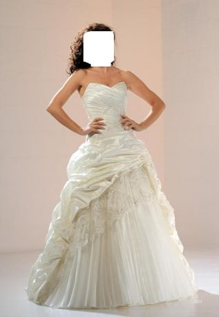 suknia ślubna sukienka sarah kolor biały 36/38