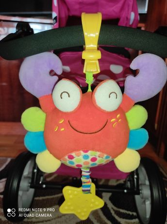 Игрушка подвеска на коляску