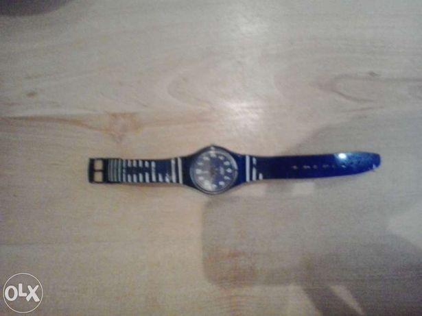 Relogio swatch azul