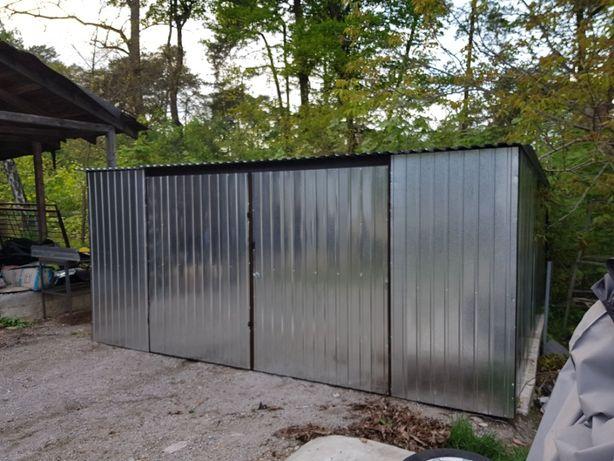 3x5 blaszak garaż na budowę schowek garaż blaszany magazynek