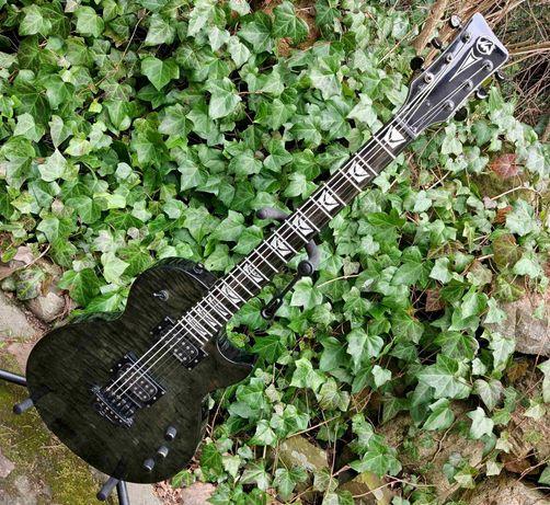 Gitara elektryczna Les Paul VGS Eruption pro, EMG, Evertune Bridge