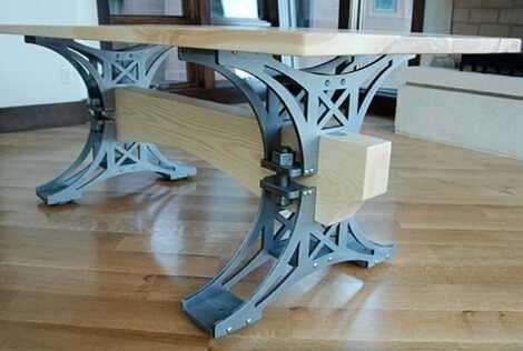 Stół industrial-loft DO DOŃCZENIA