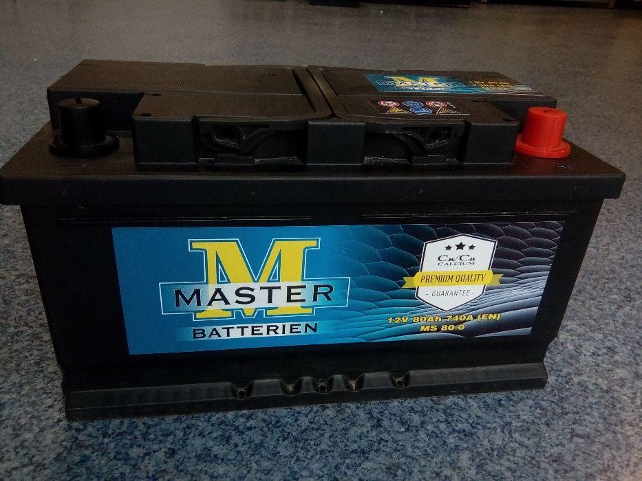 Akumulator MASTER VARTA 12V 80Ah 740A Sandomierz