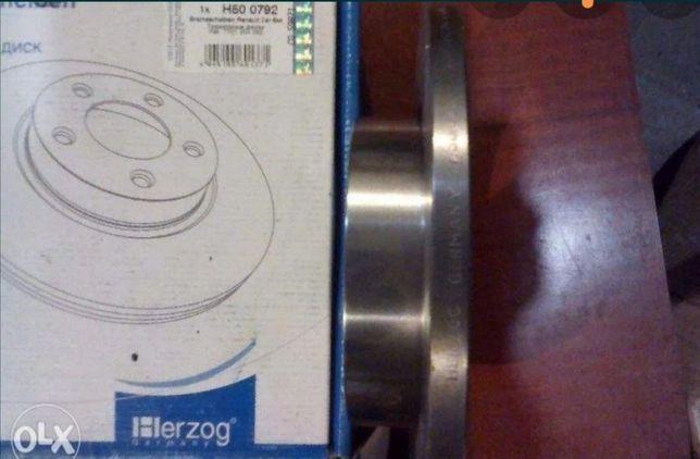 Тормозні диски передні Рено 19.21.clio/logan/megan/kangoo/rapid