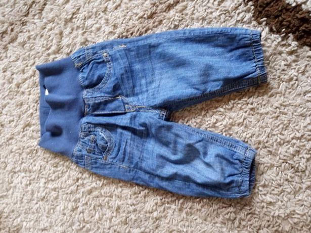 H&M spodnie ocieplane