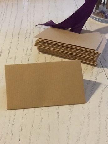 Конверты с крафт бумаги
