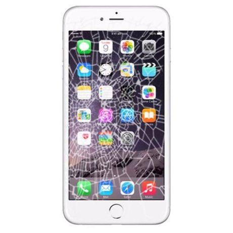 Wymiana Zbitej Szybki Wyświetlacza Naprawa Serwis iPhone5s 6 6s 7 8 X