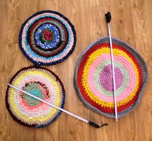 Украинские плетеные коврики, из лоскутков ткани, дорожка, ковер