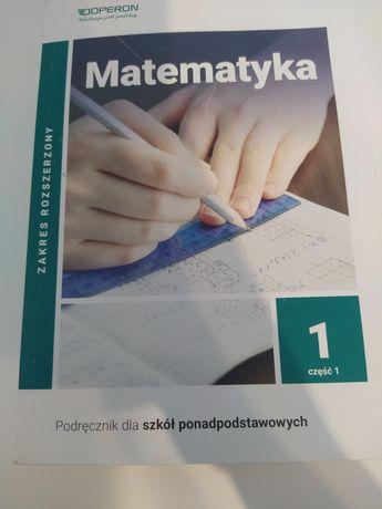 Podręcznik matematyka do 1 liceum technikum