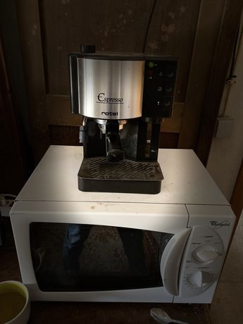 Maquina de cafe moido