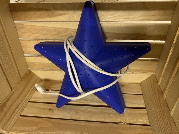 Świecaca gwiazda do pokoju dziecka