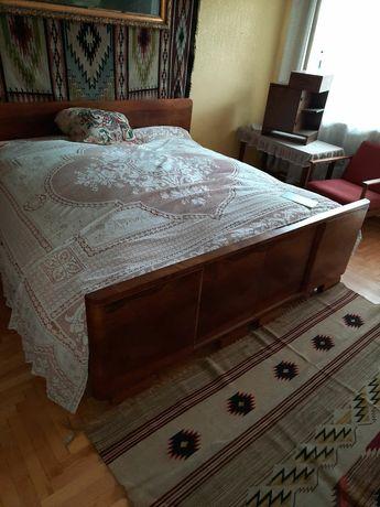 Meble  łóżko art deco nakastniki tapczan